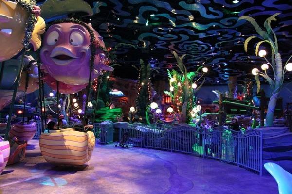 Tokyo DisneySea Triton's Kingdom