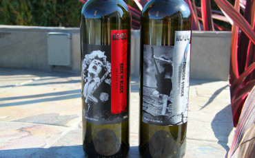 Yes, AC/DC has a wine label. Both the Shiraz and Chardonnay I sampled were shockingly good. Like, really good!