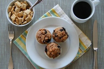 Shredded Wheat Blueberry Muffin Recipe