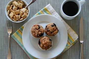 Shredded Wheat Blueberry Muffin Recipe