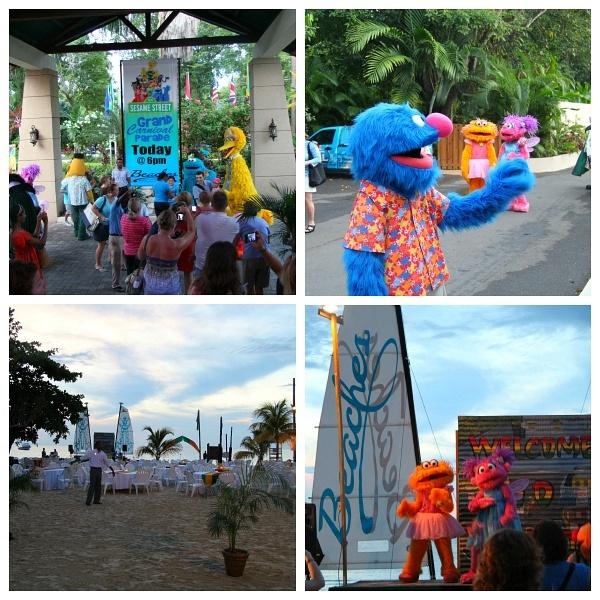 Beaches Negril Jamaica Sesame Street Parade