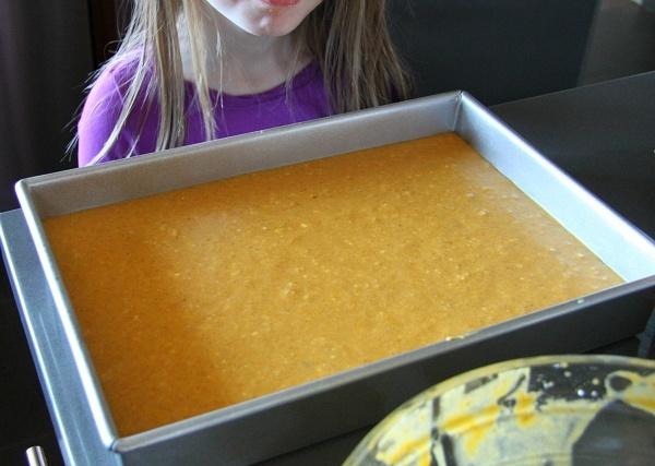 Gooey Pumpkin Cake Bar Recipe