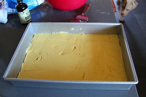 Gooey Pumpkin Cake Recipe Crust