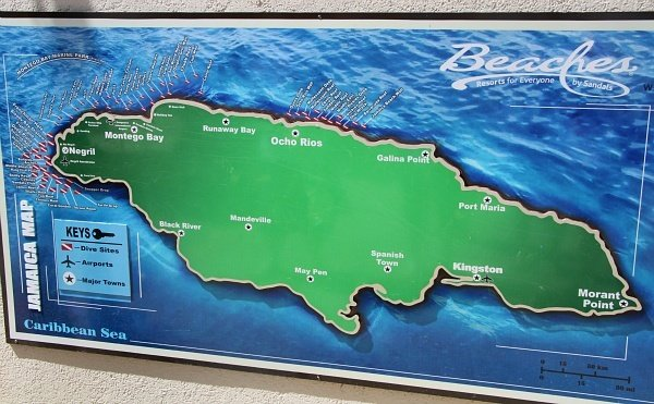 how to travel to negril jamaica