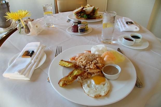 Mandarin Oriental San Francisco In-Room Dining