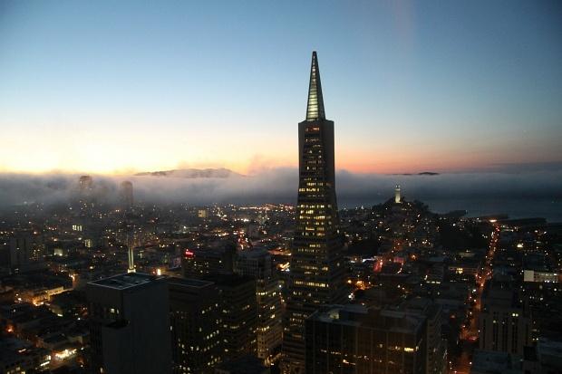 Mandarin Oriental San Francisco Sunset