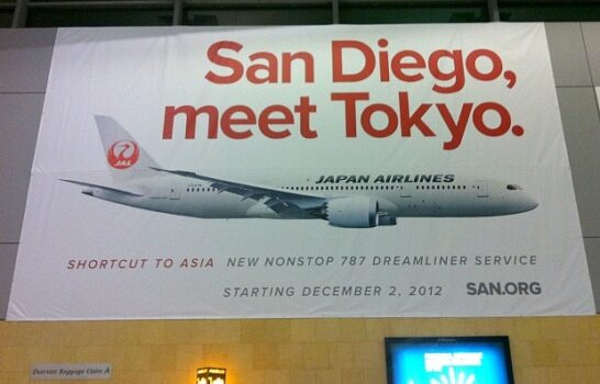 San Diego's New Direct Flight To Tokyo
