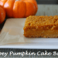 gooey pumpkin bars cake dessert recipe