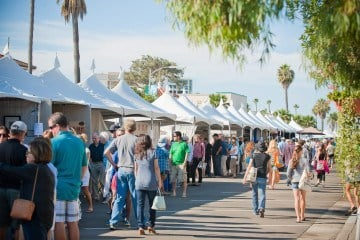 The La Jolla Art and Wine Festival is a major fundraiser for La Jolla elementary schools.