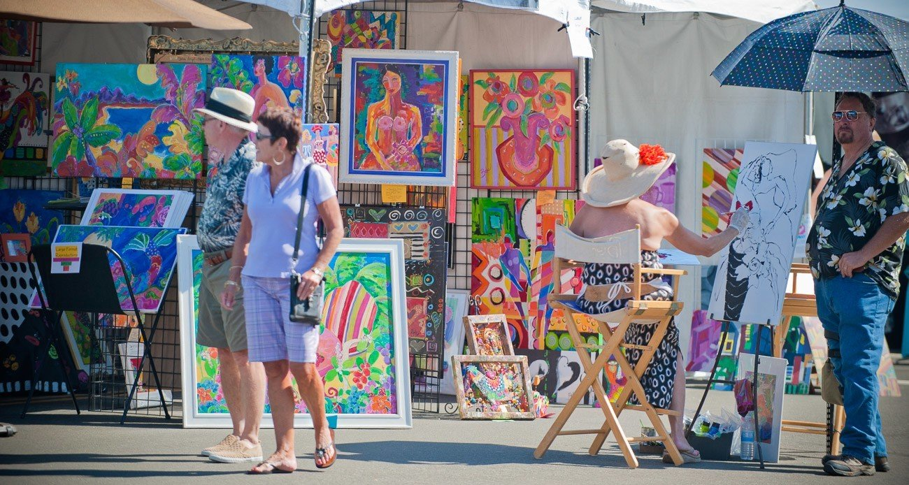 Over 150 juried artists will showcase work at the La Jolla Art and Wine Festival.