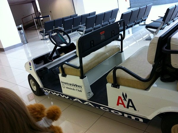 American Airlines Admiral's Club Mexico City Cart