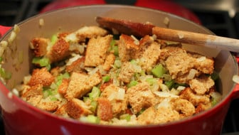 Easy Whole Wheat Celery Onion Stuffing Recipe