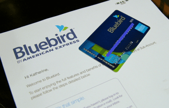 Deposit Checks Through Your Phone And Create Sub-Accounts With American Express Bluebird