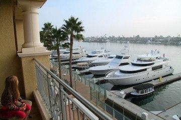 Balboa Bay Club Balcony