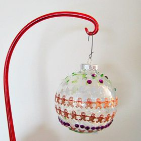 Playdate Kids Crafts: DIY Holiday Ornaments (And Fancier Versions Via Pinterest)