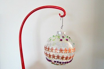 Kids Crafts DIY Holiday Ornaments Christmas
