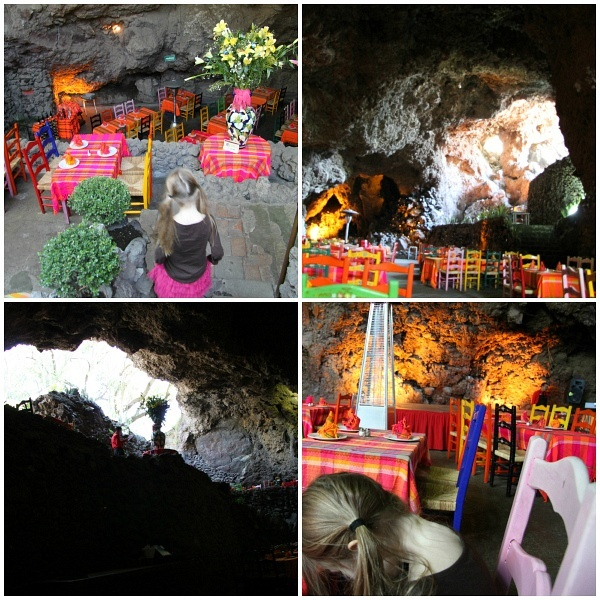 Teotihuacan La Gruta Restaurant Cave