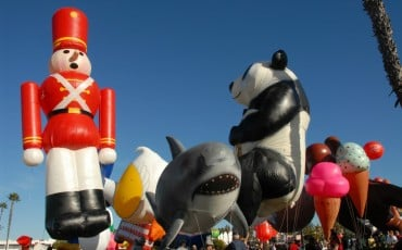 The Big Bay Balloon Parade in San Diego is one of the city's best holiday events.