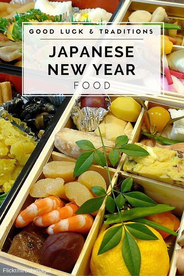 Learn what to eat for good luck and why on Japanese New Year