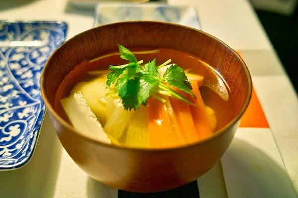 Japanese New Year ozoni soup