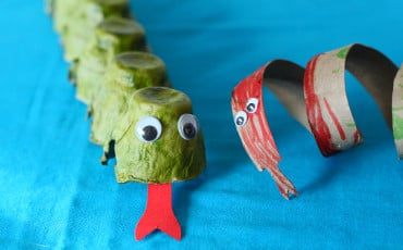 Chinese New Year Snake Kids Crafts