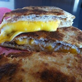 Recipe: Divine Grilled Cheese Naan