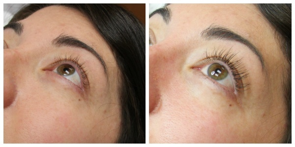 Lashes Before And After