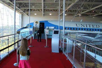 Ronald Reagan Presidential Library Air Force One