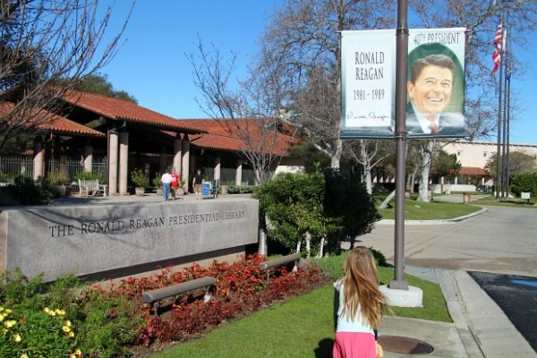 Ronald Reagan Presidential Library Kids