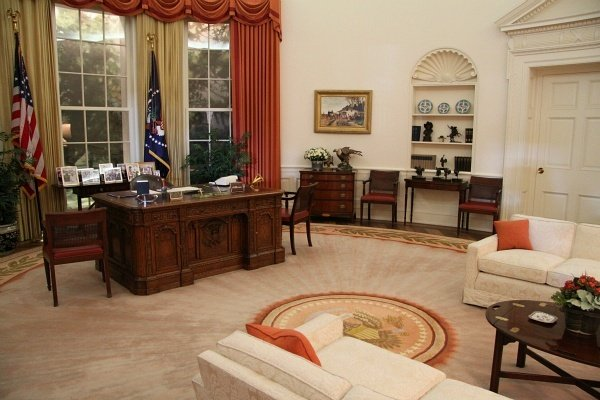 Ronald Reagan Presidential Library Oval Office