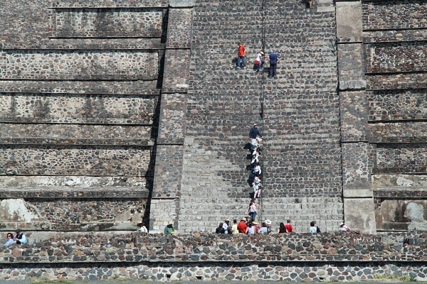 Teotihuacan piramides Mexico City with kids