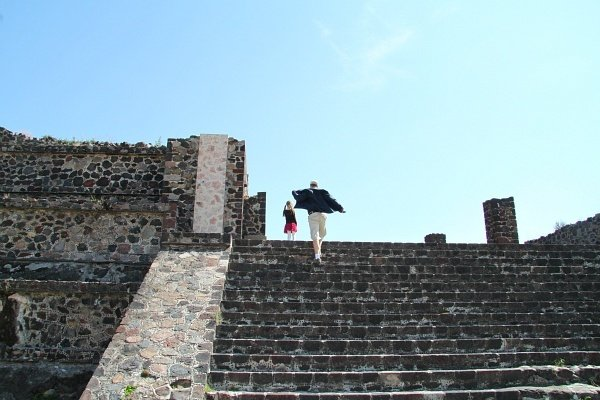 Teotihuacan piramides Mexico City
