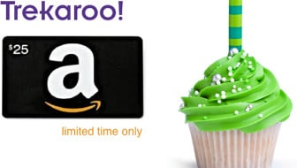 Trekaroo brithday rewards