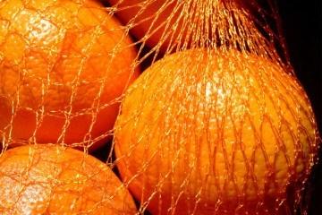 Recycle mesh citrus bags