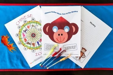 These nine free Chinese New Year printables are fun activities for young kids.