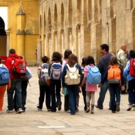 The Risk Of Putting Your Kids' Names On The Outside Of Their Backpacks