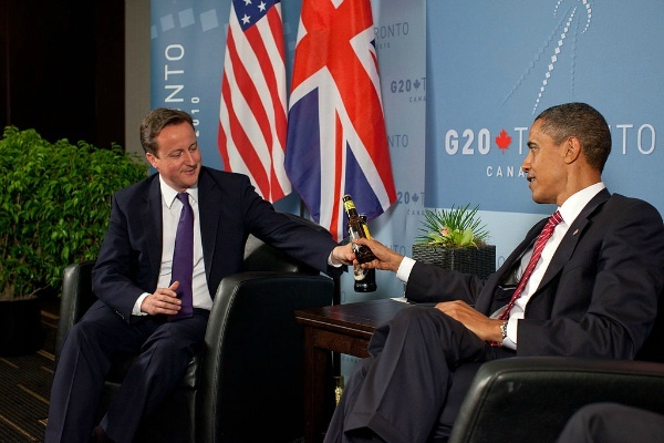 david cameron barack obama beer toronto G20