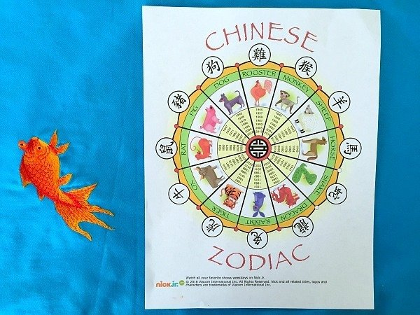 A printable Chinese Zodiac calendar by Nick Jr. has a page for each zodiac animal and is a great teaching tool.