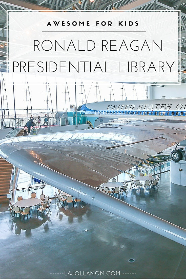 The  Ronald Reagan Presidential Library has hands-on exhibits and you can walk through Air Force One! All ages love it.