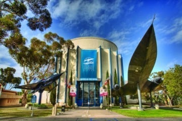 The San Diego Air and Space Museum at Balboa Park is participating in February's Museum Month where tickets are half-off.