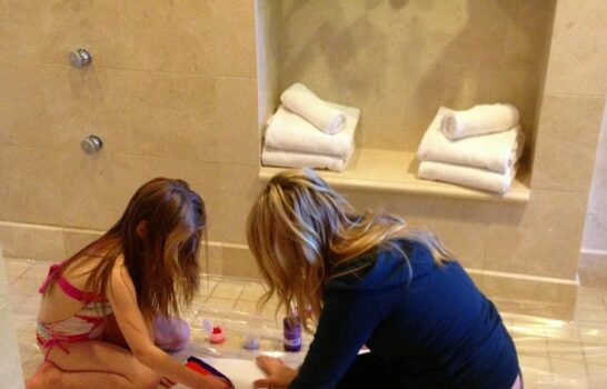 The Best Luxury Mother-Daughter Spa Treament We've Ever Had
