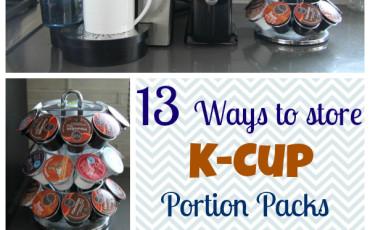Keurig K-Cup Portion Pack Storage