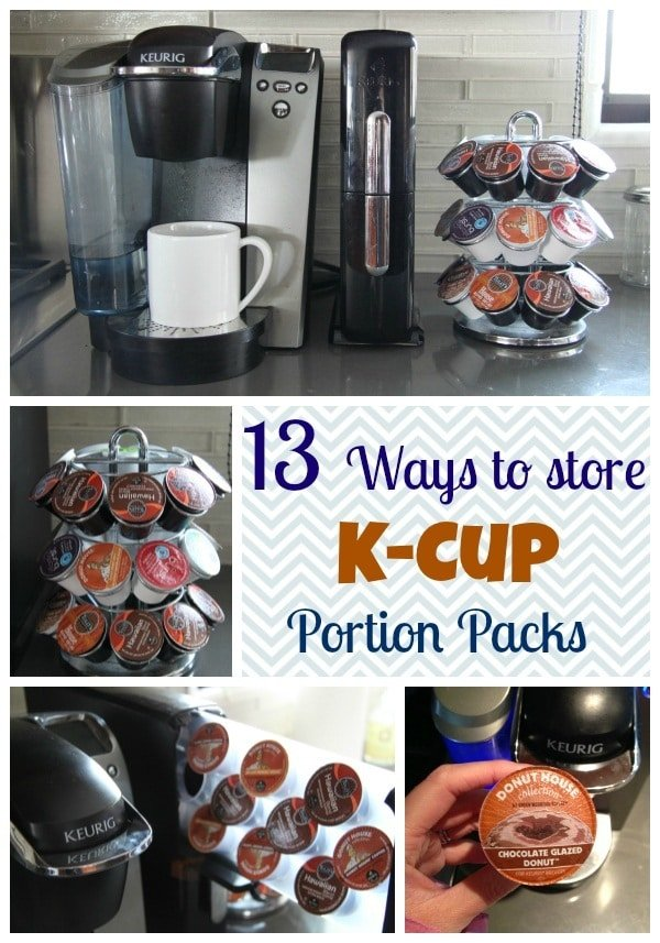 A List Of Clever Ways To Store Your Keurig Coffee Pods From K Cup Drawers