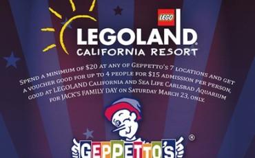 Legoland geppettos Event