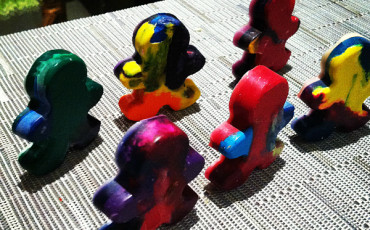 Recycle Old Crayons Kids Crafts