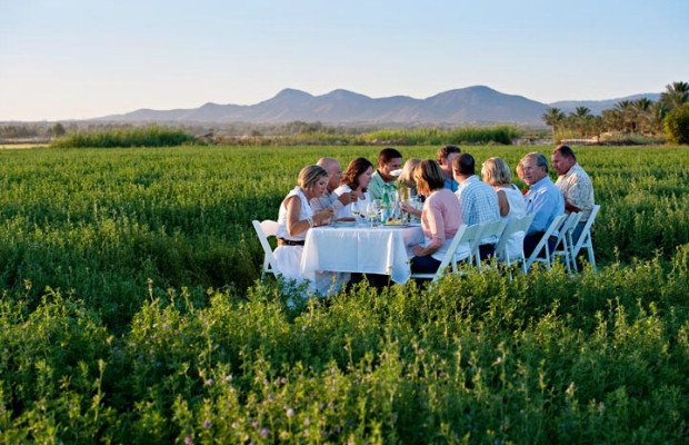 Yuma AZ Farm dinner