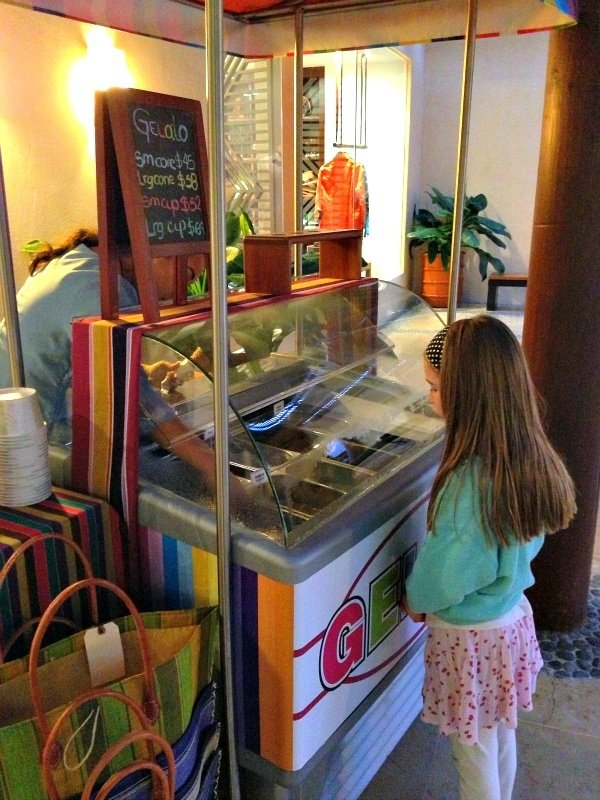 Four Seasons Resort Punta Mita Gelato Cart