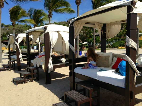 Four Seasons Resort Punta Mita Las Cuevas Beach Day Beds
