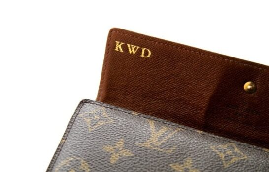 Louis Vuitton's Complimentary Hot Stamping Service