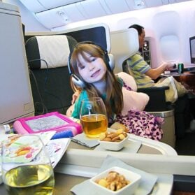 Guide to Flying with Kids in Business Class on Cathay Pacific